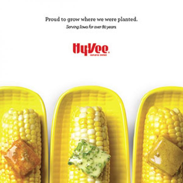 IA Magazine Spread ad – Hy-Vee